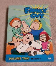 FAMILY GUY Volume 2 Season 3  DVD 3-Disc Box Set  21 Episodes EUC