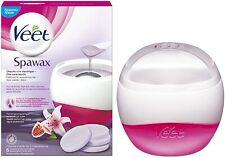 Cire dépilatoire Veet Kit SpaWax Chauffe Cire Electrique et 6 recharges de cire