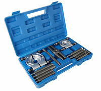 12 pcs Bearing Splitter Gear Puller Fly Wheel Separator Set With Box Tool Kit UK
