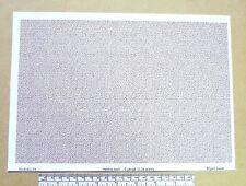 "G gauge (1:24 scale) "" Pebble dash "" -  paper- A4 sheet"