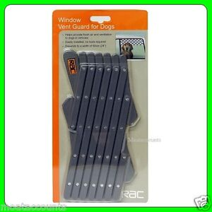 RAC Pet Window Vent and Guard [RACPB17] Suitable For Most Car Windows
