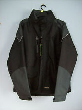 Jacket Mens Apache All Seasons Water Resistant Jacket Black Grey XL  New + Tags