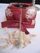 Pearl Seashell Amazing Do It Yourself New Women Necklace Love Pearl Silver Heart