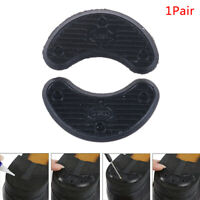 1Pair Black Non Slip Rubber Shoes Heels Guard Stickers Anti Slip Shoes Repair _F