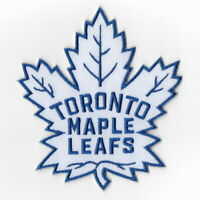 NHL Toronto Maple Leafs White Iron on Patches Embroidered Patch Applique Badge