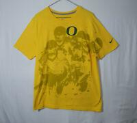 University of Oregon Ducks Football NCAA College Nike T Shirt Mens Size LARGE