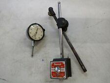 Starter No 657 Magnetic Base Amp 25 441 Dial Indicator 001 Graduations