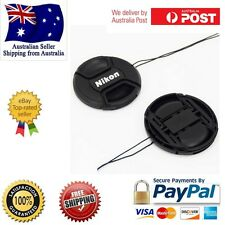 52mm Camera Front Lens Cap cover with String Nikon D40 D50 D60 D90 D3000 D5100