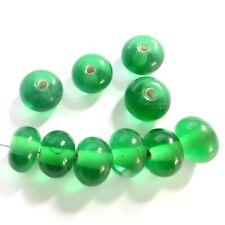 Green A3998 k2-accessories 10 pcs 12mm Lamp work Round Beads