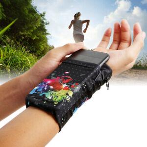 Wrist ArmBand Bag Pouch Mobile Phone Holder Wallet Women Men Sports Run Outdoor