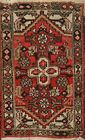 Vintage Traditional Geometric Oriental Area Rug Wool Hand-Knotted 2x3 ft Carpet