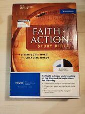 Faith in Action : Zondervan, 2005, Bonded Burgundy Leather, .