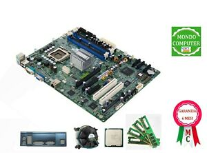 SCHEDA MADRE SOCKET 775 SERVER GIGABYTE-RH +INTEL XEON DUAL CORE E3110+ 8 Gb RAM