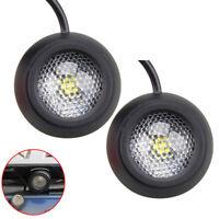 2x 5W Auto LED Rund Rückfahrscheinwerfer Rückfahrlicht Rückfahrleuchte Lampe Kit