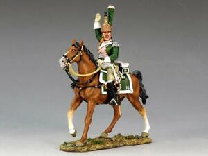 COAG-431 French Dragoon Mounted Officer (NA170) - King and Country - Napoleonic