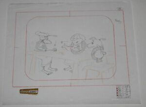 Original production drawing - Courage the Cowardly Dog (CN)