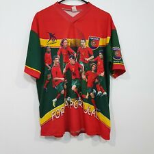 Portugal Football Team Graphic Jersey 2006 World Cup Germany Size XL