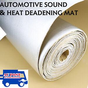 2.8m2 Sound Deadening Noisy Proofing Heat Elimination Car Hood Bonnet Insulation