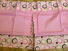 "1 George Baby Girl Pink Circle/Dots Nursery Valance 18"" x 44"""