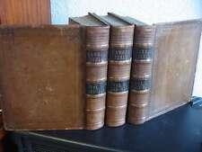 No-64-Haweis Holy Bible-Bibel-3 Bd-Leder-1848-Illustriert-28 Stahlstiche