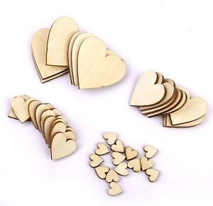 Wooden Hearts Shape, Craft Shape, Tags, Embellishments, Decoration not MDF