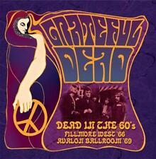 GRATEFUL DEAD– DEAD IN THE 60s FILLMORE WEST AVALON BALLROOM LIVE 3CD SET (NEW)