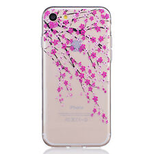 Pattern Ultra Thin Soft TPU Silicone Rubber Case Cover For iPhone 7 Plus 5.5'