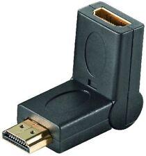 HDMI Adapter HDMI Buchse auf HDMI Kupplung abwinkelbar