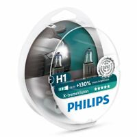 Philips Xtreme Vision H1 Car Headlight Bulb 12258XVS2 (Twin)