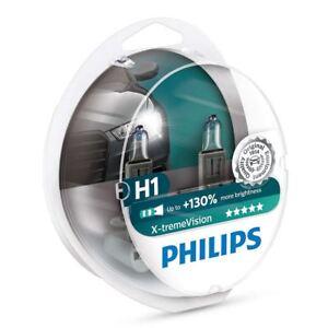 Philips Xtreme Vision H1 Car Headlight Bulb 12258XVS2 (Twin)