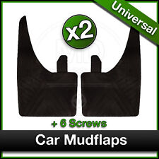 MAZDA Car Universal Rubber MUDFLAPS Mud Flaps for Front OR Rear Fitment PAIR