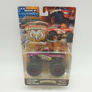 Muscle Machines Monster Truck RAMINATOR 1:64 Scale Die Cast Body Dodge Free P&P