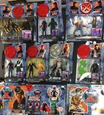 X-MEN MOVIE ACTION FIGURE LOT WOLVERINE HUGH JACKMAN MAGNETO CYCLOPS ROGUE 2000