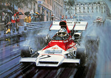"Nicholas Watts print - ""BRM - The Final Grand Prix Victory"" - 1972 Monaco GP"