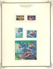 1¢ WONDER ~UNITED NATIONS OFFICES IN VIENNA AUSTRIA MODERN MH ON SCOTT PAGE~V120