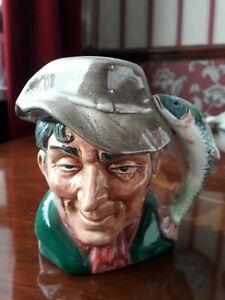 Royal Doulton Character Jug /Candle holder - The Poacher D6464