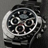 Rolex Daytona Black PVD/DLC Coated Stainless Steel 40mm Men's Watch 116500LN