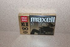 Maxell XLII 90 NEW & SEALED audio cassette High Bias 90 minutes/135m