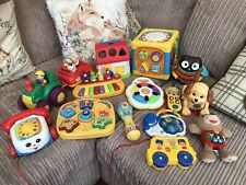 Baby/toddler Toy Bundle(activity Cube, Activity House,Peppa Piano & Loads More