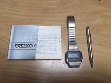 seiko calculator watch vintage