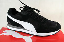 Puma Lace Up Sneakers Low Shoes Sports Shoes Black Vista 369365 New