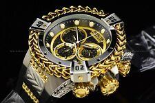 Invicta 53mm Reserve Bolt Hercules Swiss Gold Silver Black Chrono Silicon Watch