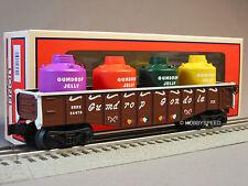 LIONEL GINGERBREAD JUNCTION GONDOLA W CANISTER LOAD train 6-30219 car 6-26470