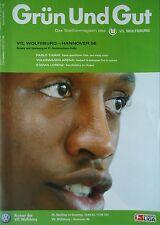 Programm 2002/03 VfL Wolfsburg - Hannover 96