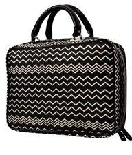 NWT Missoni Target Black White Weekender Travel TOTE Cosmetic Bag Case Purse