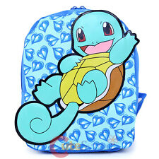 "Pokemon XY Squirtle Toddler Backpack 10"" Small Book Bag"
