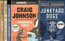 Craig Johnson ~ 5 Sheriff Longmire Books: Cold Dish, Junkyard Dogs, Kindness ++3