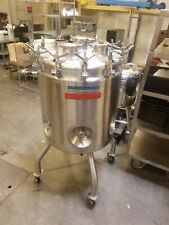 Stainless Jacketed Reactor Vessel 200l Video