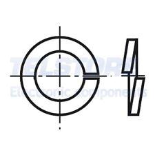 100pcs  Rondella elastica M3 D=5,6mm h=1mm acciaio INOX A4 DIN 7980 BOSSARD