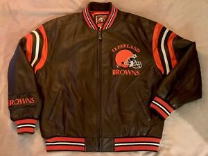 Cleveland Browns G-III Leather Jacket NWT